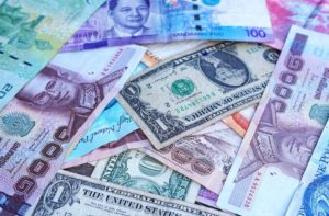 Situation of the FOREX market in Asia